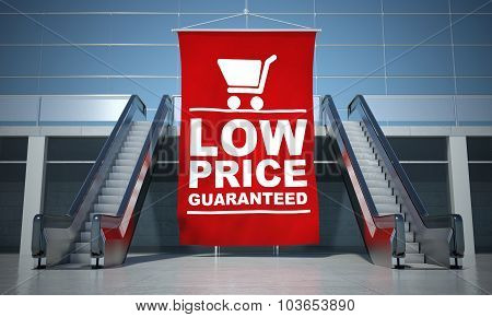 Low Prices Guaranteed Advertising Flag And Escalator
