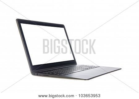 Laptop Isolated On White Background