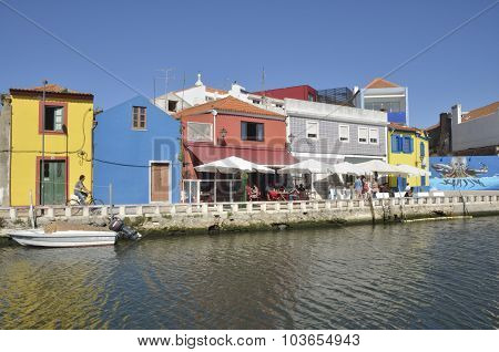 Canal In  Aveiro