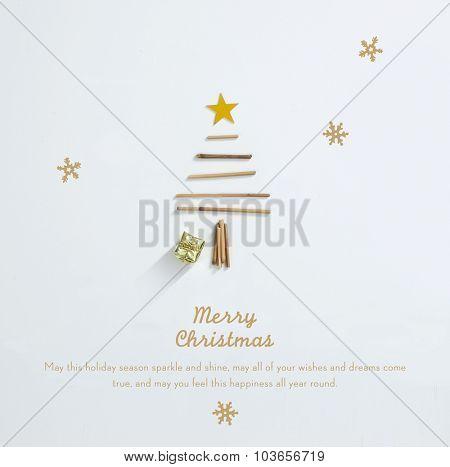 Beautiful Minimal Christmas Card