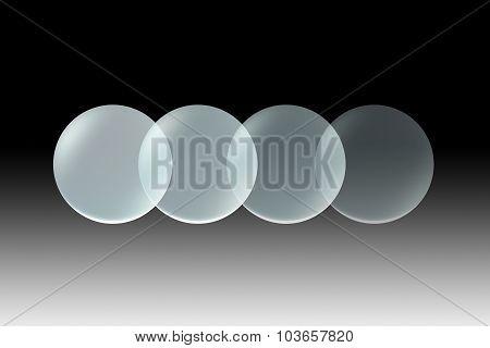 Glass Lens Opacity Black