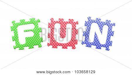 Colored Letters, Fun For Children