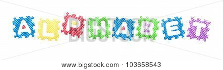 Colored Letters Alphabet For Children
