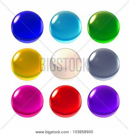 Nine Color Crystal Ball