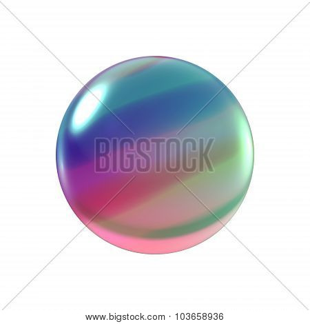 Crystal Color Bubble Ball