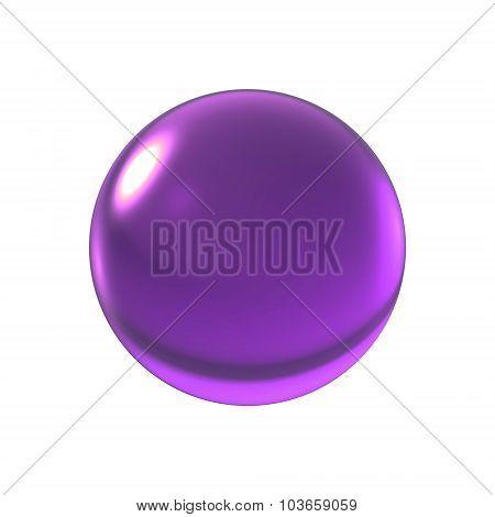Crystal Violet Ball
