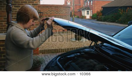 Female Car Maintenance
