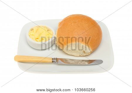 Bread Roll And Butter