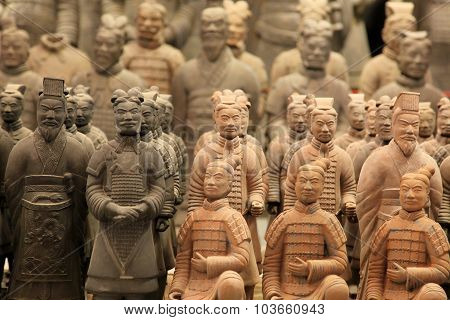 Xian,china -june 13 :the Terracotta Army Or The