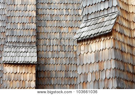 wooden shingle old