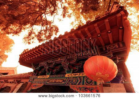 Temple In Shao Lin, China