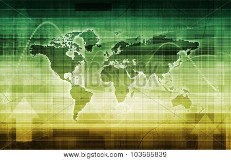 Modern Digital Economy on a Global Work Scale