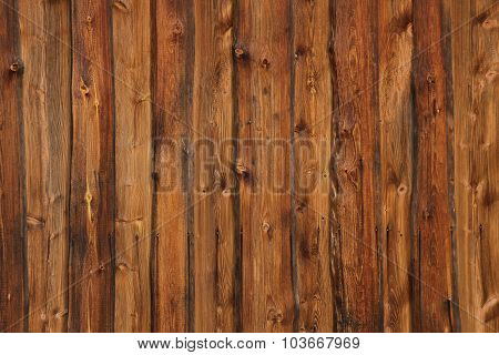 Rustic Old Screen Of Boards