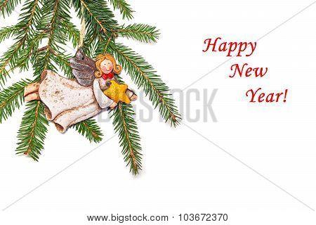 New Year's Congratulatory Background