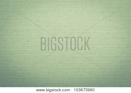 Green Paper Background With Soft Pattern