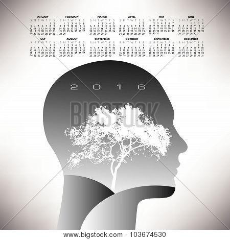 2016 ethereal calendar