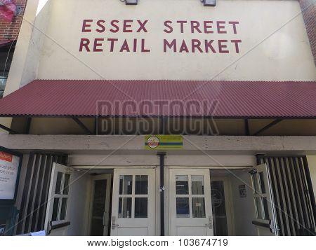 Essex Street Retail Market in New York