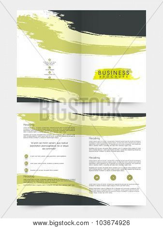 Creative professional Brochure, Template or Flyer design for your Business.