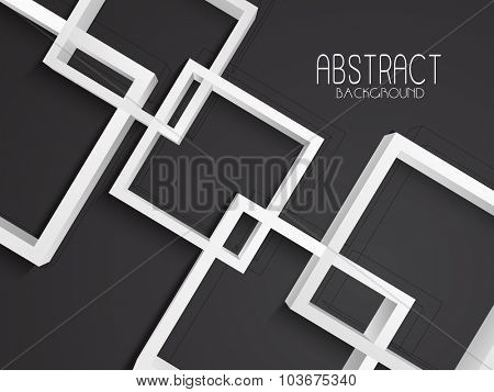 Creative stylish Abstract design on grey background.