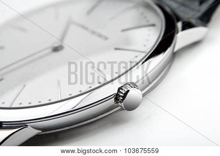 Luxury watch, closeup