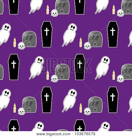 Halloween Seamless Pattern 2