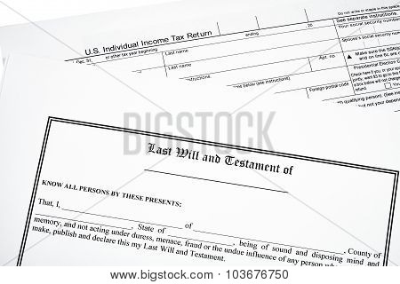 Last Will And Income Tax Return