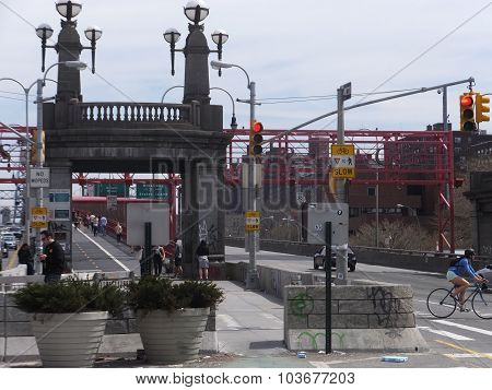 Williamsburg Bridge in New York