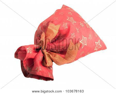 Closed Red Gift Bag
