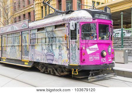 Melbourne Art Tram