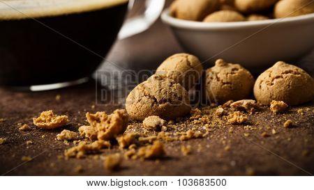 Coffee With Amarettini