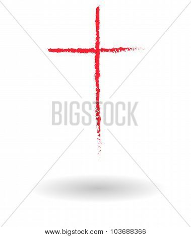 Roman Cross Sign Sketch