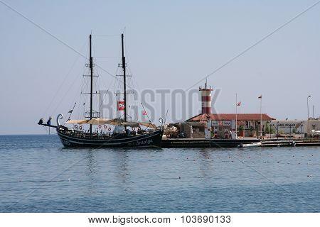 Pirate touristic ship