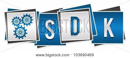 SDK Blue Grey Blocks