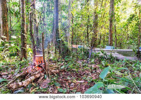 Amazonian Campsite