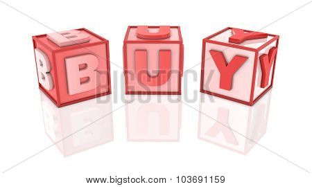 Red Blocks - Buy