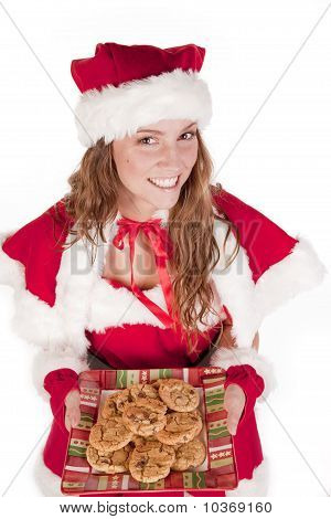 Mrs Santa Cookies And Smile