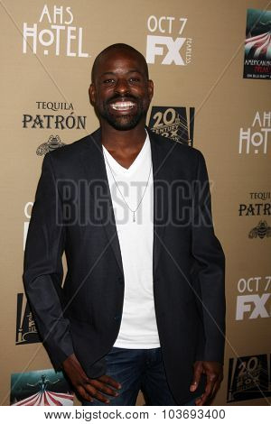 LOS ANGELES - OCT 3:  Sterling K. Brown at the