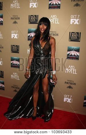 LOS ANGELES - OCT 3:  Naomi Campbell at the