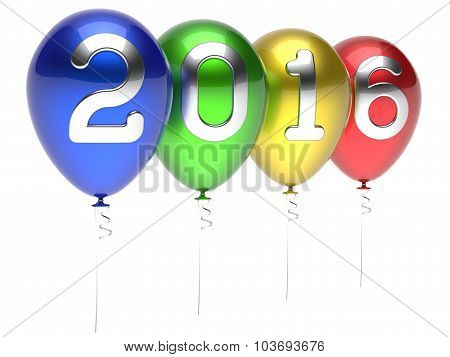 New Years Eve 2016 Balloons Wintertime Party Decoration