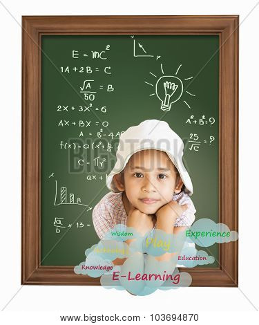 Little Girl With Education