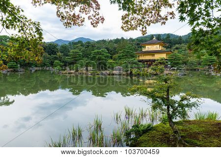 Kinkakuji temple in Japan