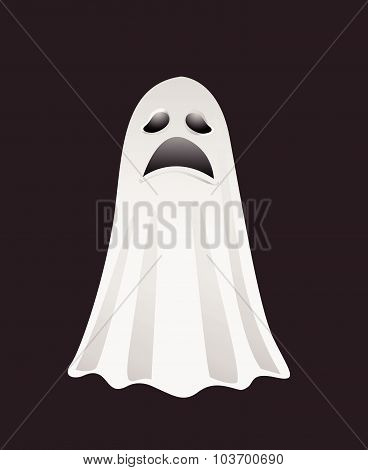Halloween ghost for design