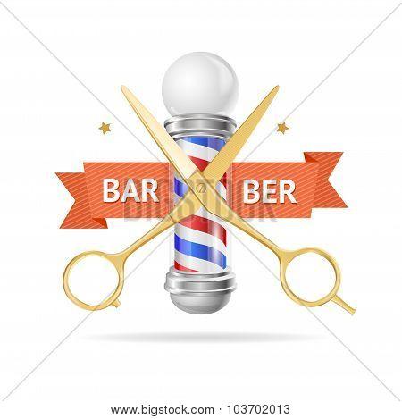 Barber Concept. Vector