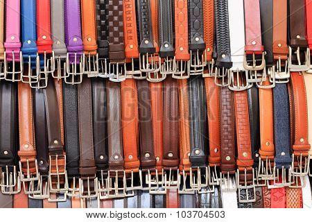 Coloured Belts Background
