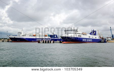 Dfds Seaways Freight Ferry