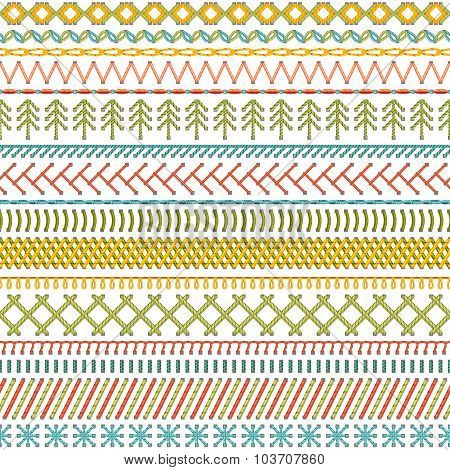Seamless Sewing Pattern.