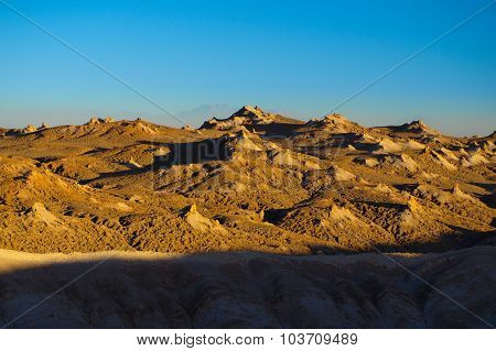 Rocky landscape of Atacama Desert