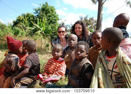 Children Of Tanzania Africa 01