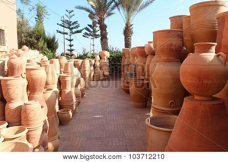 Ceramics. Manual production.