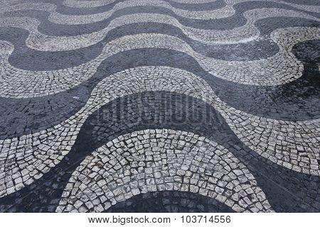 Wave Cobblestone Artistic Pavement